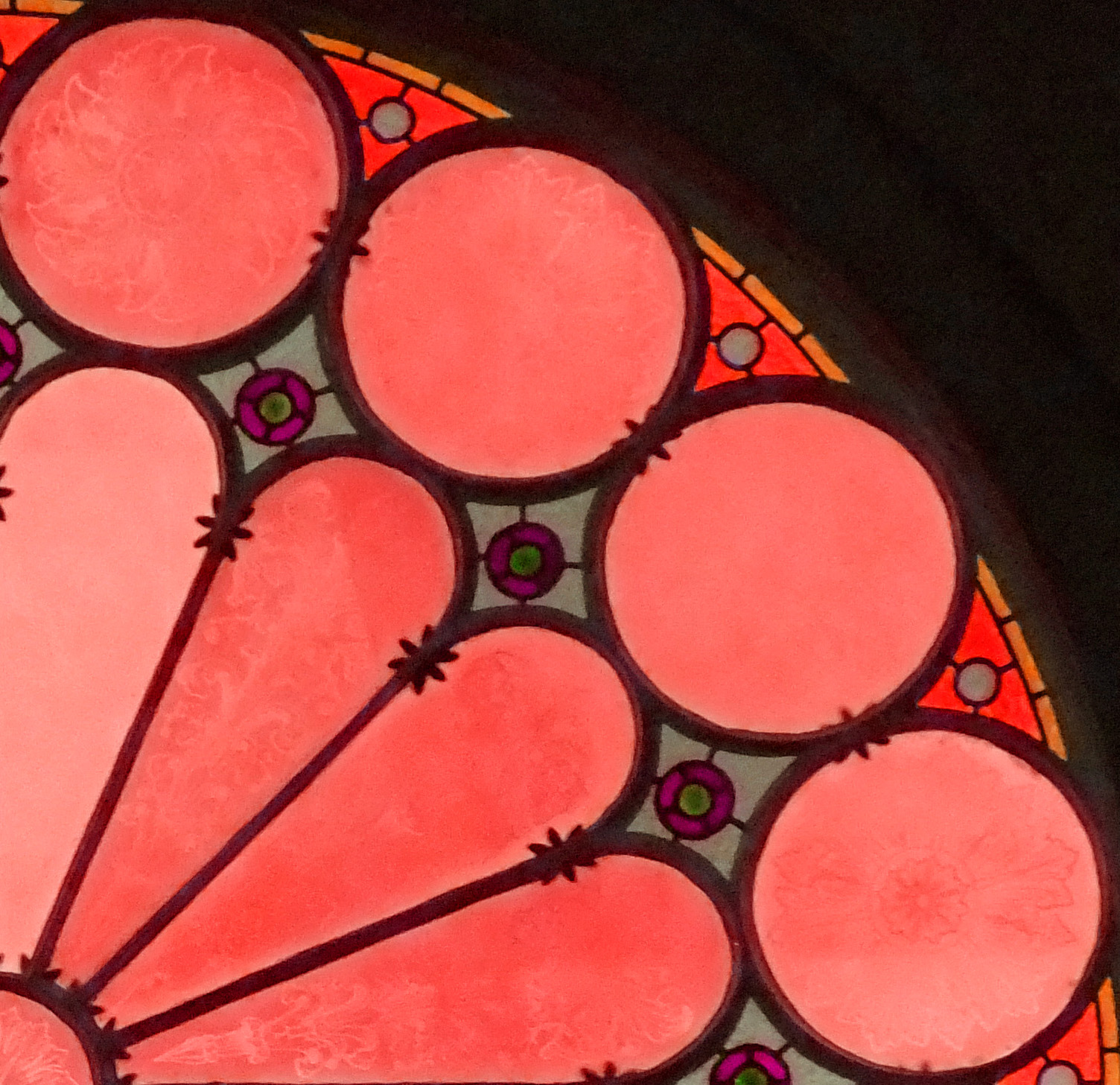 Red Stained Glass : Pin red windows background greg watson fertilizer